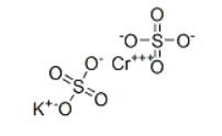 Chromium(III) sulfate hydrate Structure