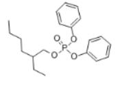 2-Ethylhexyl diphenyl phosphate Structure