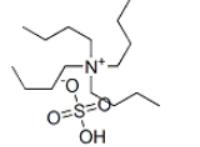 Tetrabutylammonium hydrogen sulfate Structure