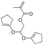 Dicyclopentenyloxyethyl Methacrylate Structure