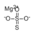 Magnesium Thiosulfate Structure