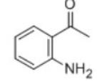 2-Aminoacetophenone Structure