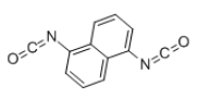 Naphthylene-1,5-diisocyanate Structure