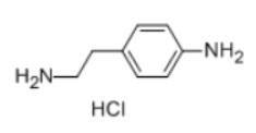 2-(4-AMINOPHENYL)ETHYL AMINE 2HCL Structure