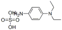 N,N-Diethyl-p-phenylenediamine sulfate Structure