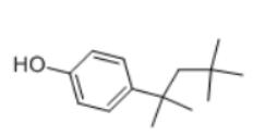 4-tert-Octylphenol Structure