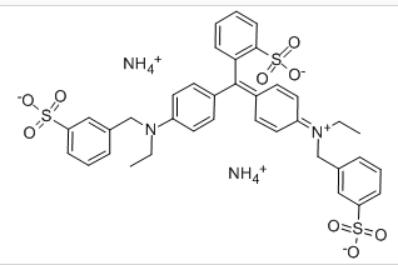 Acid Blue 9 Structure