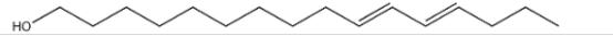 (E,E)-10,12-Hexadecadien-1-ol Structure