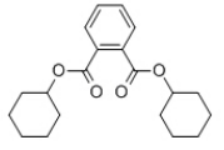 Dicyclohexyl phthalate Structure