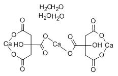 Calcium Citrate Structure