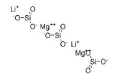 Silicic acid, lithium magnesium salt Structure