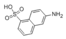 6-Amino-1-naphthalenesulfonic acid Structural
