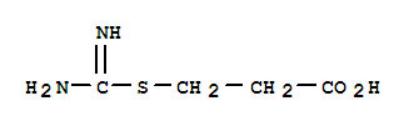3-Isothioureidopropionic Acid Structure