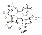 Zinc Phytate Structure