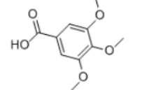 Gallic Acid Trimethyl Ether Structure