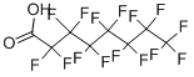 Pentadecafluorooctanoic acid Structure