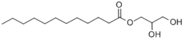 Glyceryl MonoLaurate(GML) Structure