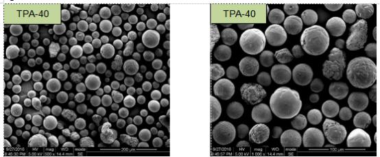 Aluminum oxide TPA-40  SEM Image