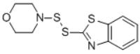 4-(2-BENZOTHIAZOLYLDITHIO)MORPHOLINE Structure