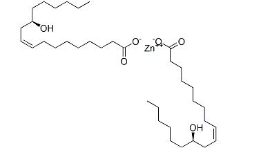 zinc diricinoleate Structure