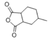 Hexahydro-4-methylphthalic anhydride Structure