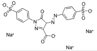 Tartrazine Structure