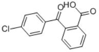 2-(4-Chlorobenzoyl)Benzoic Acid Structure