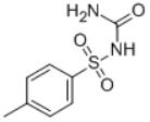 4-Methylphenylsulfonylurea Structure