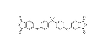 4,4'-BISPHENOL A DIANHYDRIDE Structure