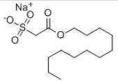 Sodium lauryl sulfoacetate Structure