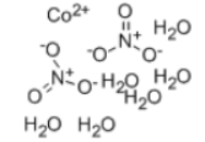 Cobaltous nitrate hexahydrate Structure