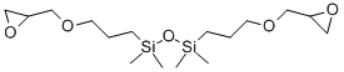 1,3-BIS(3-GLYCIDOXYPROPYL)TETRAMETHYLDISILOXANE Structure