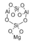 Magnesium Aluminosilicate Structure
