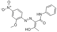 Pigment Yellow 74 structure