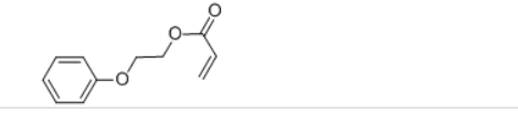 2-PHENOXYETHYL ACRYLATE Structure