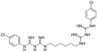 Chlorhexidine Diacetate Structure