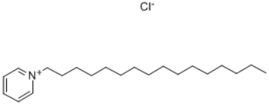 Cetylpyridinium chloride Structure