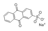 Sodium anthraquinone-2-sulfonate Structure