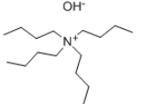 Tetrabutylammonium hydroxide Structure