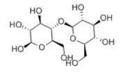 D( )-Cellobiose Structure