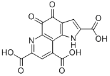 Pyrroloquinoline quinone acid Structure