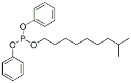 Isodecyl Diphenyl Phosphite Structure