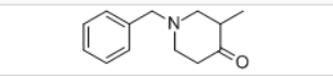 1-BENZYL-3-METHYL-4-PIPERIDONE Structure
