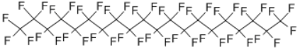 Perfluoroeicosane Structure