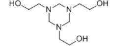 hexahydro-1,3,5-tris(hydroxyethyl)-s-triazine Structure