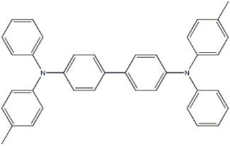 N,N' -diphenyl-N,N' -di-p-tolyl- Benzidine Structure