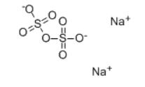 Sodium Pyrosulfate Structure
