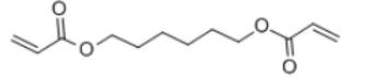 Hexamethylene Diacrylate Structure
