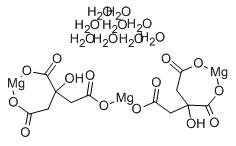Magnesium Citrate Structure