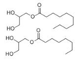 Decanoyl/octanoyl-glycerides Structure